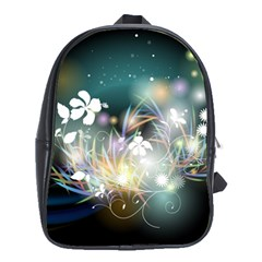 Abstraction Color Pattern 3840x2400 School Bag (xl)
