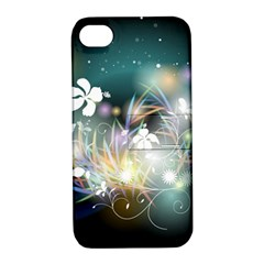 Abstraction Color Pattern 3840x2400 Apple Iphone 4/4s Hardshell Case With Stand