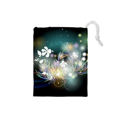 Abstraction Color Pattern 3840x2400 Drawstring Pouches (small)