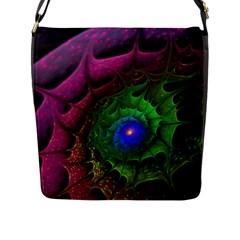 Immersion Light Color  Flap Messenger Bag (l)