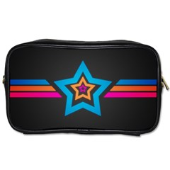 Star Background Colorful  Toiletries Bags
