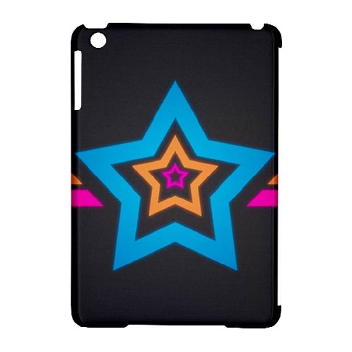 Star Background Colorful  Apple iPad Mini Hardshell Case (Compatible with Smart Cover)
