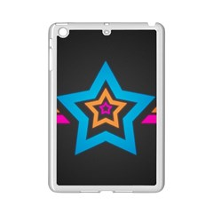 Star Background Colorful  Ipad Mini 2 Enamel Coated Cases