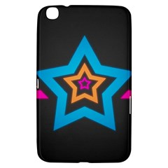 Star Background Colorful  Samsung Galaxy Tab 3 (8 ) T3100 Hardshell Case