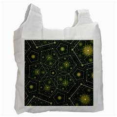 Shape Surface Patterns  Recycle Bag (two Side)