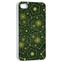 Shape Surface Patterns  Apple Iphone 4/4s Seamless Case (white)
