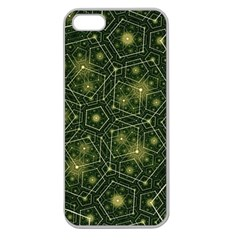 Shape Surface Patterns  Apple Seamless Iphone 5 Case (clear)
