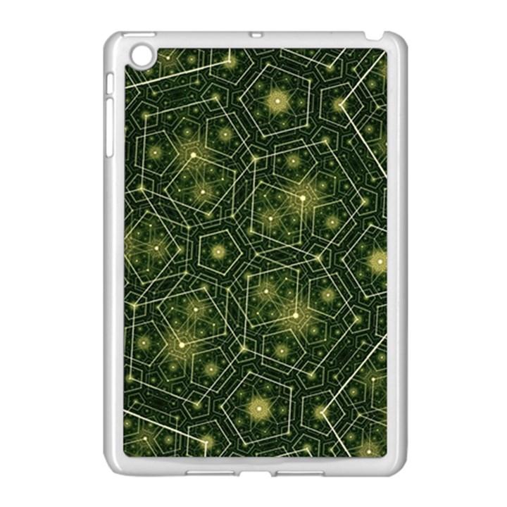 Shape Surface Patterns  Apple iPad Mini Case (White)