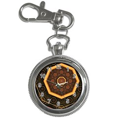 Light Surface Lines  Key Chain Watches