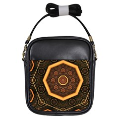 Light Surface Lines  Girls Sling Bags