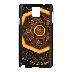 Light Surface Lines  Samsung Galaxy Note 3 N9005 Case (black)