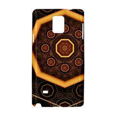 Light Surface Lines  Samsung Galaxy Note 4 Hardshell Case