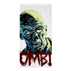 Zombie Shower Curtain 36  X 72  (stall)