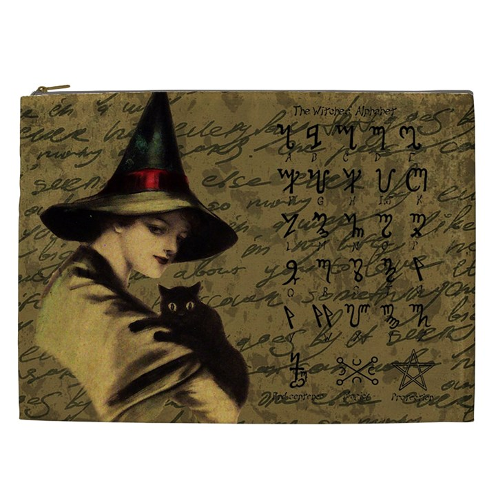 Witchcraft vintage Cosmetic Bag (XXL)