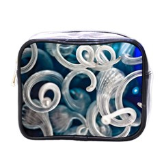 Spiral Glass Abstract  Mini Toiletries Bags