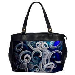 Spiral Glass Abstract  Office Handbags