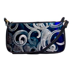 Spiral Glass Abstract  Shoulder Clutch Bags