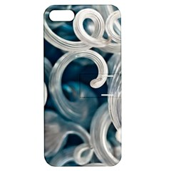 Spiral Glass Abstract  Apple Iphone 5 Hardshell Case With Stand