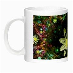 Flowers Fractal Bright 3840x2400 Night Luminous Mugs