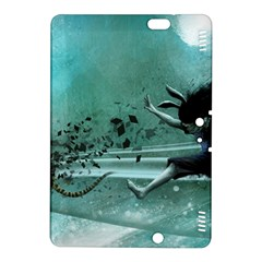 Running Abstraction Drawing  Kindle Fire Hdx 8 9  Hardshell Case