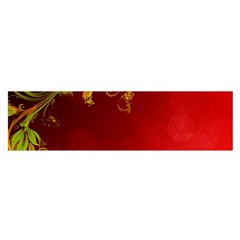 Fire Effect Background  Satin Scarf (oblong)