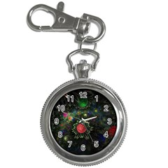 Shapes Circles Flowers  Key Chain Watches