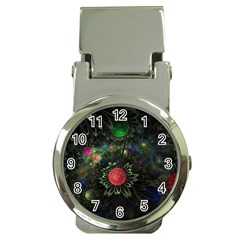 Shapes Circles Flowers  Money Clip Watches
