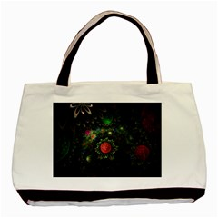 Shapes Circles Flowers  Basic Tote Bag (two Sides)