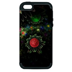 Shapes Circles Flowers  Apple Iphone 5 Hardshell Case (pc+silicone)