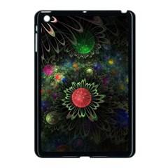 Shapes Circles Flowers  Apple Ipad Mini Case (black)