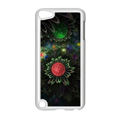 Shapes Circles Flowers  Apple Ipod Touch 5 Case (white)