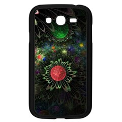 Shapes Circles Flowers  Samsung Galaxy Grand Duos I9082 Case (black)