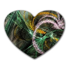 Connection Background Line Heart Mousepads