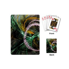 Connection Background Line Playing Cards (mini)
