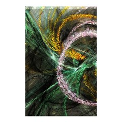 Connection Background Line Shower Curtain 48  X 72  (small)