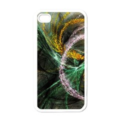 Connection Background Line Apple Iphone 4 Case (white)