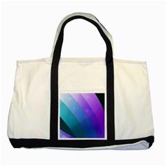 Line Glare Light 3840x2400 Two Tone Tote Bag