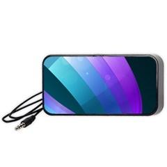 Line Glare Light 3840x2400 Portable Speaker (black)