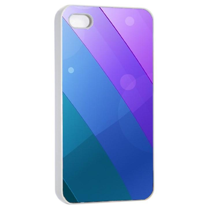 Line Glare Light 3840x2400 Apple iPhone 4/4s Seamless Case (White)