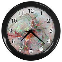 Shroud Clot Light  Wall Clocks (black)