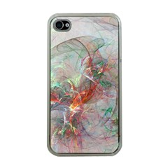 Shroud Clot Light  Apple Iphone 4 Case (clear)