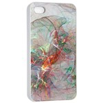 Shroud Clot Light  Apple iPhone 4/4s Seamless Case (White) Front