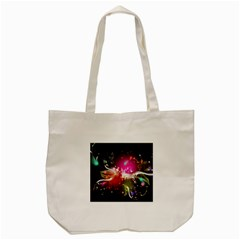 Plant Patterns Colorful  Tote Bag (cream)