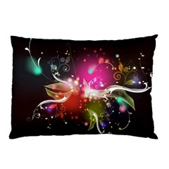 Plant Patterns Colorful  Pillow Case (two Sides)