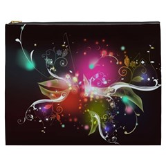 Plant Patterns Colorful  Cosmetic Bag (xxxl)