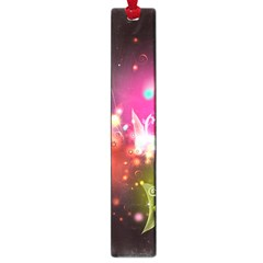 Plant Patterns Colorful  Large Book Marks