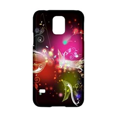 Plant Patterns Colorful  Samsung Galaxy S5 Hardshell Case