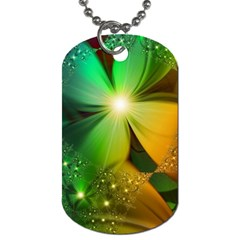 Flowers Petals Colorful  Dog Tag (one Side)
