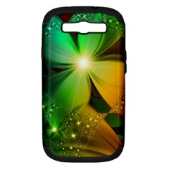 Flowers Petals Colorful  Samsung Galaxy S Iii Hardshell Case (pc+silicone)