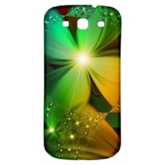 Flowers Petals Colorful  Samsung Galaxy S3 S Iii Classic Hardshell Back Case